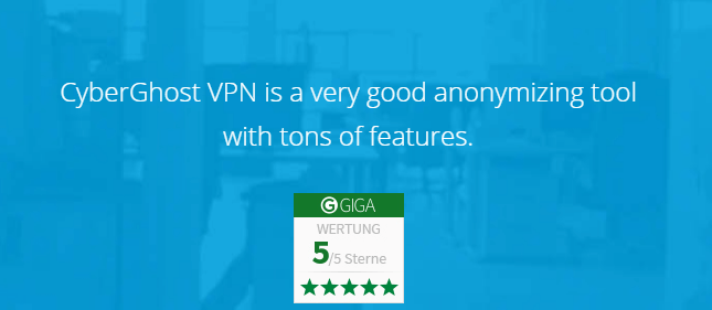 CyberGhost VPN Review-Free Proxy-Surf Anonymously & Be Free