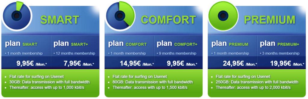Usenext Pricing
