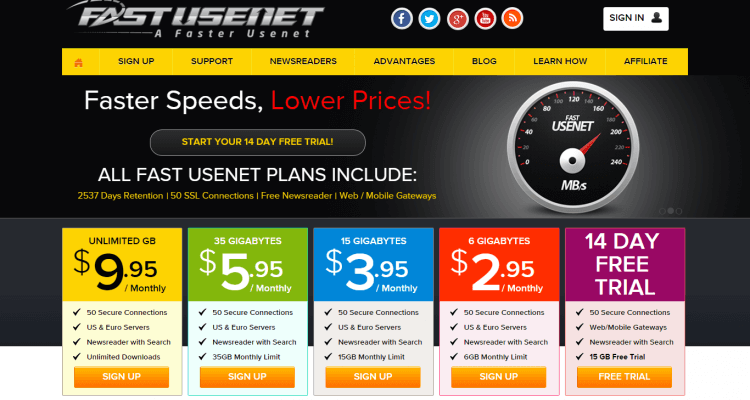 how to cancel usenet free trial