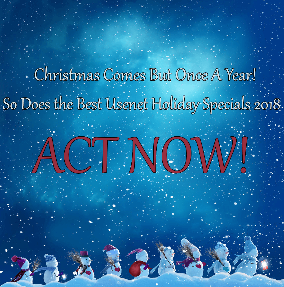 2019 Usenet Holiday Specials