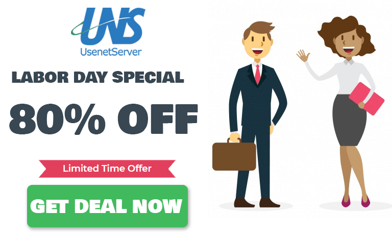 Labor Day Usenet Special Offers
