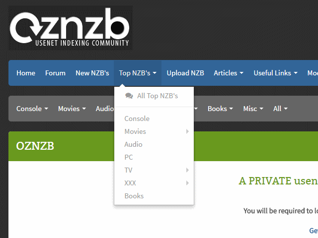 We recommend UsenetServer for your Usenet Provider of choice. Oznzb will  enable you to discover what you're searching for accross a large number of  ...