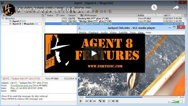 Forte Agent Newsreader