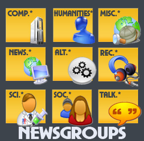 How are Newsgroups Created